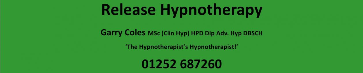 Release Hypnotherapy – 'The Hypnotherapist's Hypnotherapist!'